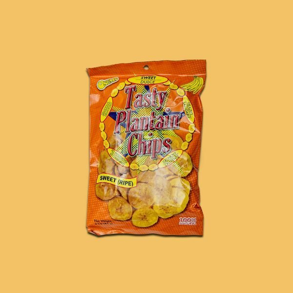 Sweet Dulce Tasty Plantain Chips Bag
